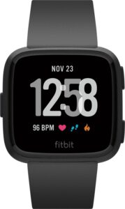 Fitbit Versa zwart